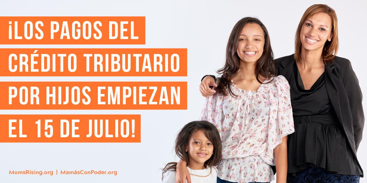 ¡Los pagos del crédito tributario por hijos empiezan el 15 de Julio!