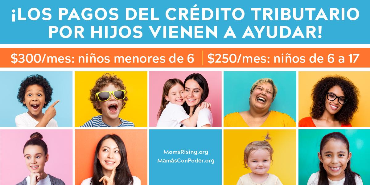 ¡Los pagos del crédito tributario por hijos vienen a ayudar!
